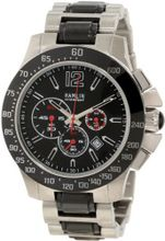 Hamlin HACM0413:001 Ceramique Big and Bold Stainless Steel Chronograph