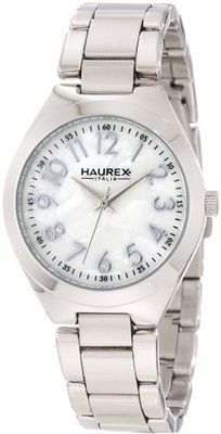 Haurex Italy XA387DSS Orchidea Round Mother-of-Pearl Bold Numbers