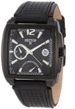 Hector 665232 Black PVD Dual-Time Date