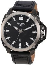 Hector 665250 Black Sun-Ray Dial Date