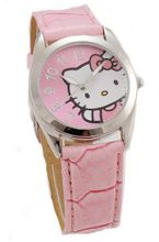 Hello Kitty Analogue Pink Strap