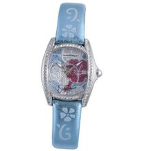 Hello Kitty Blue Floral Stainless Steel