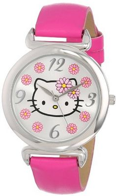 Sanrio Hello Kitty HKAQ5371 Analog Display Analog Quartz Pink