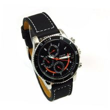 Henley Gents Chrono Effect Black Dial Sports