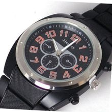 Henley Gents Chrono Effect Black Sports