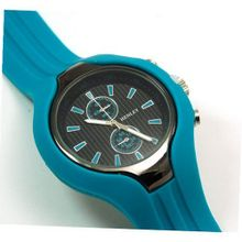 Henley Gents Turquoise Chrono Effect Sports
