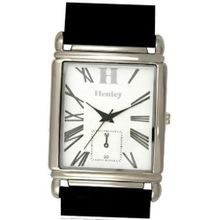 Henley Glamour Gents Chrono Effect Black Strap Fashion H01001.3