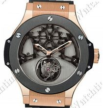 Hublot Bat Bang Tourbillon Gold Ceramic