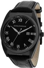 Hurlingham Barclay H-70350-D with Black Leather Band