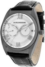Hurlingham Barclay H-70352-C with Black Leather Band