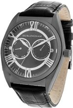 Hurlingham Barclay H-70352-D with Black Leather Band