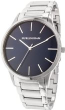 Hurlingham Berkley H-90180-B with Silver Stainless Steel Band