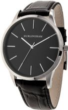 Hurlingham Berkley H-90180-D with Black Leather Band