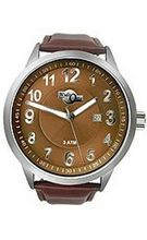 HydrOlix 3-Hand Brown Leather/Brown Dial Unisex #XA00220