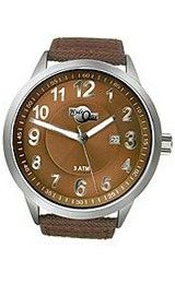 HydrOlix Three-Hand Brown Web Fabric/Brown Dial #XA00215
