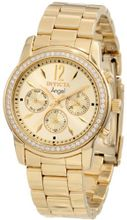 Invicta 11770 Angel Gold Dial 18k Gold Ion-Plated Stainless Steel