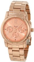 Invicta 12509 Angel Rose Dial 18k Rose Gold Ion-Plated