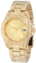Invicta 12820 Pro Diver Gold Dial Diamond Accented