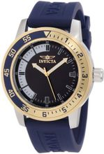 Invicta 12847 Specialty Blue Dial with Gold/Blue Bezel