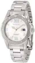 Invicta 12851 Pro Diver Silver Dial with Crystal Accents