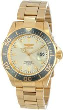 Invicta 14979 Pro Diver Analog Display Japanese Quartz Gold