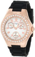 Invicta 1645 Angel White Dial Crystal Accented