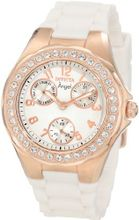 Invicta 1646 Angel Jelly Fish Crystal Accented White Dial