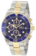 "Invicta 1773 ""Pro Diver"" 18k Gold Ion-Plating and Stainless Steel"