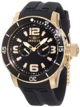 "Invicta 1792 ""Specialty"" 18k Gold Ion-Plated"