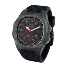 iTime Unisex Quartz with Black Dial Analogue Display and Black Silicone Strap PH4900-C-PH01R