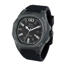 iTime Unisex Quartz with Black Dial Analogue Display and Black Silicone Strap PH4900-C-PH01T