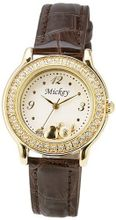 Disney from Japan Mickey 15 (gold with leather lace) WMK-D07-BR