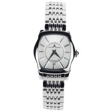 Jacques Lemans Stainless Steel Analog Rectangle Face