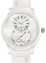 Jaquet Droz Elegance Paris Grande Seconde Ceramic Mother-of-Pearl