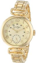 Jessica Simpson JS015C Round Case Analog Bracelet and Multi-Layer Dial