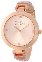 Jessica Simpson JS022D Round Case Analog Braided Strap