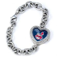 Ladies MLB Cleveland Indians Heart