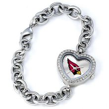 uJewelry Adviser Nfl Watches Ladies NFL Arizona Cardinals Heart