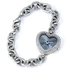 uJewelry Adviser Nfl Watches Ladies NFL Dallas Cowboys Heart