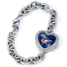 Ladies NHL Columbus Blue Jackets Heart