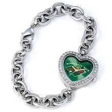 Ladies NHL Minnesota Wild Heart