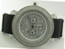 46 MM Jojino/Joe Rodeo Aqua Master Chronograph Metal Band Diamond Mj-1186