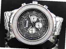51 MM Jojino/Joe Rodeo Aqua Master Chronograph Metal Band Diamond Mj-1190