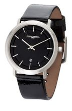 Black Dial Black Patent Genuine Leather