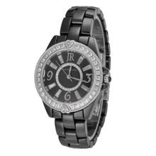 Judith Ripka - Steel & Ceramic - Black Ceramic - Swiss Part Mvt - S-size