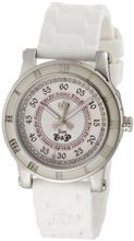 Juicy Couture 1900417 HRH Stainless-Steel White Jelly Strap