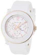 Juicy Couture 1900755 Pedigree White Ceramic Rose-Tone