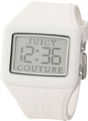 "Juicy Couture 1900986 ""Chrissy"" White Silicone Digital"