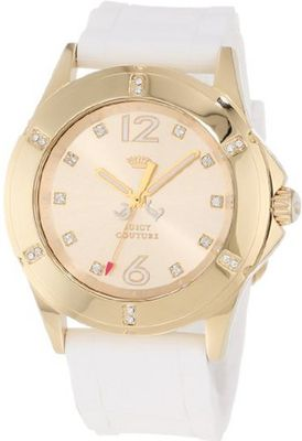 Juicy Couture 1900996 Rich Girl White Silicone Strap