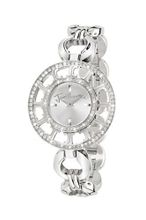 Just Cavalli Ladies R7253176745 In Collection Multilogo, 2 H and S, Silver Dial and Stainless Steel Bracelet